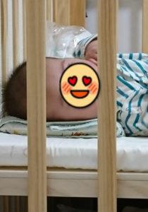 生後3か月 父娘